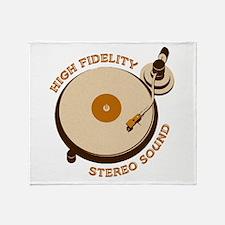 High Fidelity Throw Blanket