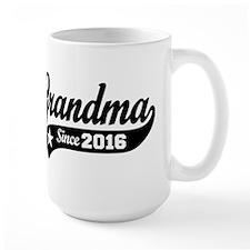 Grandma Since 2016 Coffee Mug