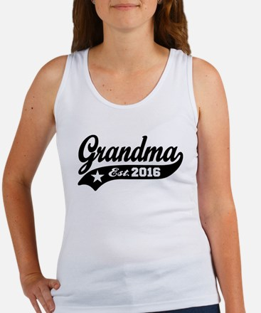 Grandma Est. 2016 Women's Tank Top