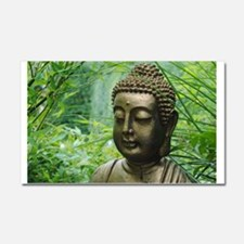 Buddha in the Forest Car Magnet 20 x 12
