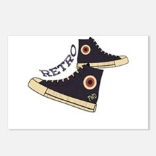 Retro Shoes Postcards (Package of 8)