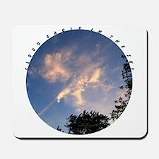 CLOUD EAGLE IN THE SKY Mousepad