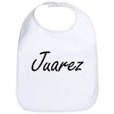 Juarez surname artistic design Bib