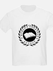 World's Greatest Author T-Shirt