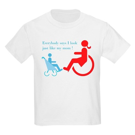 Mommy Disabled - Disability Kids Light T-Shirt