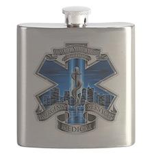 Cute 911 Flask