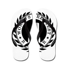 World's Greatest Barber Flip Flops