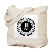 World's Greatest Barber Tote Bag