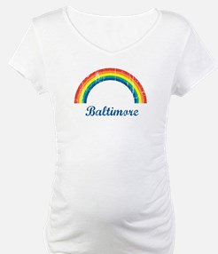 Baltimore (vintage rainbow) Shirt