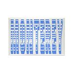 Monterey Rectangle Magnet (10 pack)