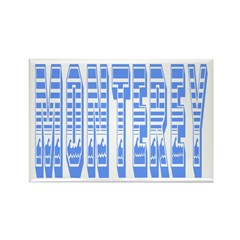Monterey Rectangle Magnet (10 pack)