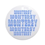 Monterey Ornament (Round)