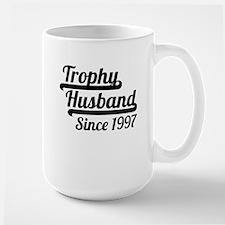 Trophy Husband Since 1997 Mugs
