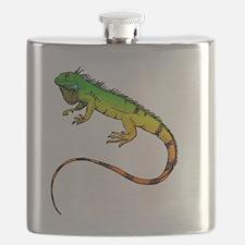 Green Iguana Flask