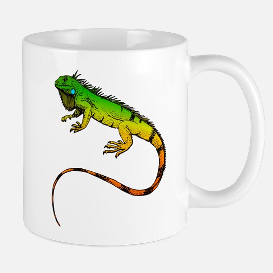 Green Iguana Mugs