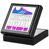 Runners Keepsake Boxes