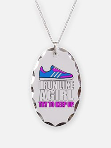 Run Like A Girl  Necklace