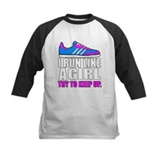 Run Like A Girl Baseball Jersey