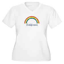 California (vintage rainbow) T-Shirt