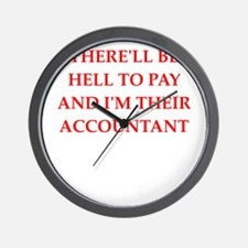 hell to pay Wall Clock