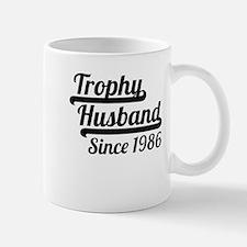 Trophy Husband Since 1986 Mugs