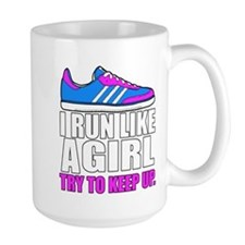 Run Like A Girl Mugs