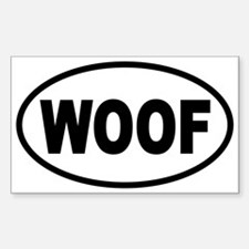 Unique Woof Decal