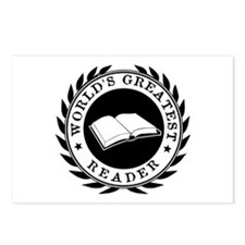 World's Greatest Reader Postcards (Package of 8)
