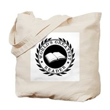 World's Greatest Reader Tote Bag