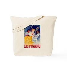 Le Figaro Jules Cheret Tote Bag
