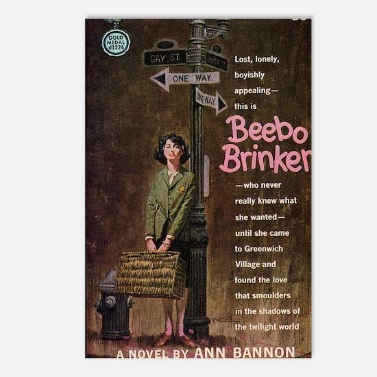 Beebo Brinker Postcards (Package of 8)