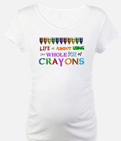 COLORING - LIFE IS ALL ABOUT USI Shirt