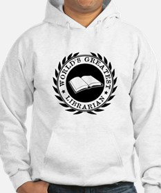 World's Greatest Librarian Jumper Hoody