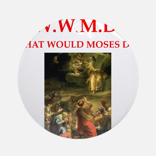 moses Ornament (Round)