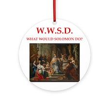 solomon Ornament (Round)