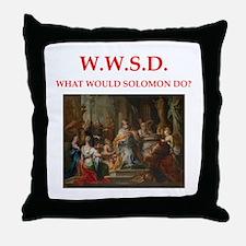 solomon Throw Pillow