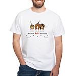 Nothin' Butt Beagles White T-Shirt