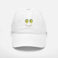 Cute Avocado Face Rieko's Fave Baseball Baseball Cap
