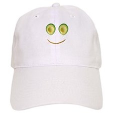 Cute Avocado Face Rieko's Fave Baseball Cap