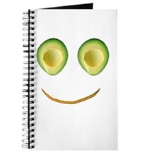 Cute Avocado Face Rieko's Fave Journal