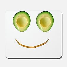 Cute Avocado Face Rieko's Fave Mousepad