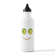 Cute Avocado Face Riek Water Bottle