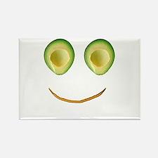 Cute Avocado Face Rieko's Fave Magnets