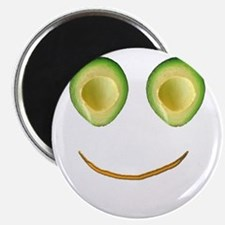 Cute Avocado Face Rieko's Fave Magnets