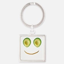 Cute Avocado Face Rieko's Fave Keychains