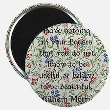 William Morris Quote Magnet