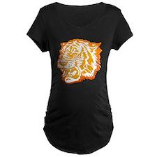 TIGER Orange Yellow Design! T-Shirt