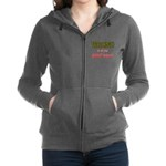 WRONG IN ALL THE RIGHT Women's Zip Hoodie
