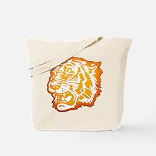 TIGER Orange Yellow Design! Tote Bag