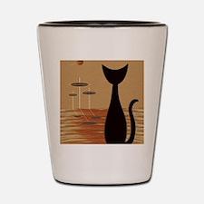 Atomic Kitty Shot Glass